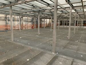 USED MEZZANINE FLOOR, 36m X 42m ONLY 2 YEARS OLD
