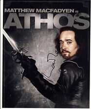 [4860] Matthew Macfadyen THE THREE MUSKETEERS Signed 10x8 Photo AFTAL