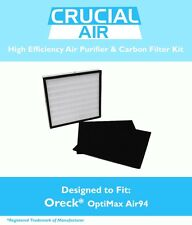 Designed to Fit Oreck OptiMax® Air 94, Includes 1 Air Filter & 2 Carbon Filters
