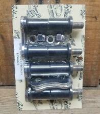 PETE & JAKES 1935-1948 FORD Rear CHROME SHACKLES 2.25 hot rod custom vtg spring