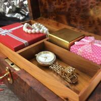 Memory thuya wooden jewelry box, handmade Jewellery storage organizer gift box