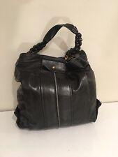 Chloe Heloise Black LeAther Hobo Shoulder Bag