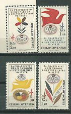 Czech Republic, Czechoslovakia Scott # C53/56 * Mnh Set