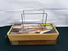 Vintage Pyrex Bake-a-Round Glass Tube Bread Baker with Box