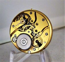 POCKET WATCH MOVEMENT AND MULTICOLOR DIAL SWISS 11 JEWELS HUNTER CASE SIZE 12s