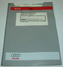 Werkstatthandbuch Audi A6 Typ C5 4B Diesel Direkteinspritzanlage Vorglühanlage!!