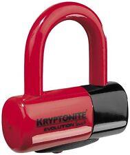 Kryptonite Evolution Series 4 Disc Lock Red Motorcycle 720018-999621 13-2117