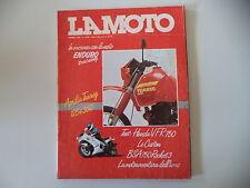 LA MOTO 4/1986 APRILIA TUAREG 125/350/BSA ROCKET/MOTO GUZZI V 35/HONDA VFR 750 F
