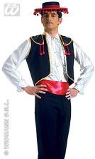 GILET E CINTURA DA TORERO Tg. M/L Widmann Carnevale Spagna Corrida 110 4301T