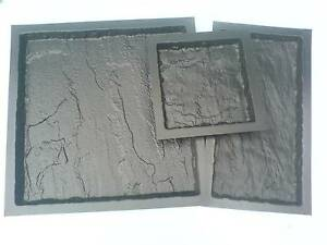 600x600x38 OLD YORK SLAB PAVING MOULD  3MM ABS
