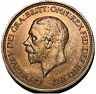 1936 King George V A Beautiful A High Grade Half Penny A Lot Nicer In Hand