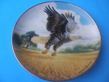 "The Franklin Mint ""Amber Waves Of Grain"" Plate Hj335 Ltd. Edtn Fine Porcelain"