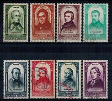 timbres France n° 795/802 oblitérés année 1948