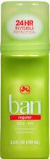 Ban Deodorant & Antiperspirant Roll-On Regular 3.5 oz.