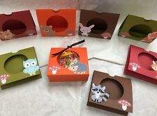 Woodland/Forest Animal Candy/Treat Holder Party Favors Goody Bags