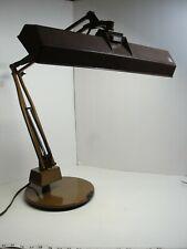 Vintage MCM ELECTRIX Workshop Desk Weighted Base Industrial Lamp Model K726