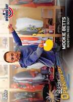 2018 Topps Opening Day Before Opening Day #BOD-MB Mookie Betts Red Sox