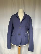 Alberto Aspesi Pure Wool Jacket Eur 48 Lilac Purple Blazer Style Fitted Pockets