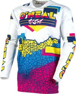 O'Neal Mayhem Craquelé 91 Jersey Moto Atv / Utv Moto