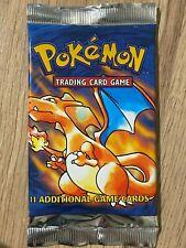4th Print 1999-2000 Base Set Factory Sealed Pokemon Booster Box Pack Design 1