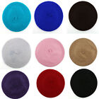Fashion 100% Wool Warm Women Felt French Beret Beanie Hat Cap Tam Hot 12 colors