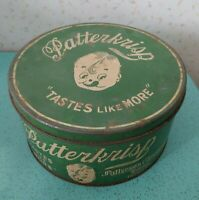 Antique Patterkrisp Tin Chocolate Candy 10 Lbs  Patterson Chocolate Toronto