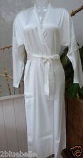 $558 La Perla silk robe S M dressing gown Agent Provocateur thong ivory cream