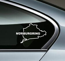 NURBURGRING Racing Performance Motorsport window Vinyl Decal Sticker emblem logo