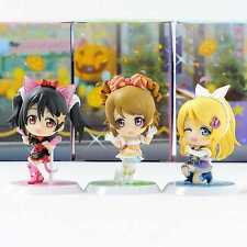 Love Live! Chibi Kyun Chara, Dancing stars on me! Vol.3 x3 Fig. BANPRESTO. New.