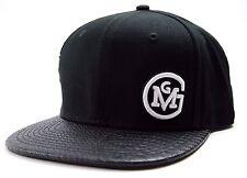 GAS MONKEY GARAGE MONKEY SIDE HIT TEXTURED BILL SNAPBACK CAP HAT