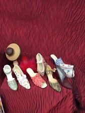 Bundle Of Shoes,Handbag,& Hat Ornaments