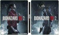 PS4 Resident Evil Biohazard Re: 2 Geo Ltd Steel Book Steelbook w/out Game Soft