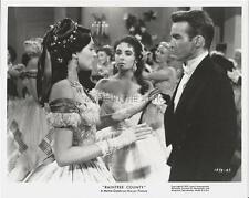 MONTGOMERY MONTY CLIFT LIZ ELIZABETH TAYLOR RAINTREE COUNTY MGM FILM STILL #12