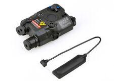 Tactical ELEMENT Upgrade Version White Light Airsoft LA PEQ15 Red Laser IR Laser