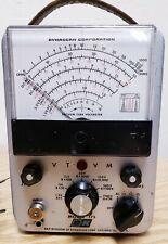 Vintage Bampk Dynascan Model 175 Vacuum Tube Voltmeter Vtvm Science Equipment 1968