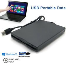 3.5 Inch External Floppy Disk Drive 1.44MB Reader Writer FOR Win 10 Laptop PC TP