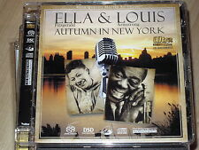 SACD Hybrid Ella & Louis - Autumn in New York (UD 32/192) Super Audio CD Gold