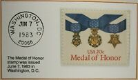 1983 20c The Medal of Honor Stamp