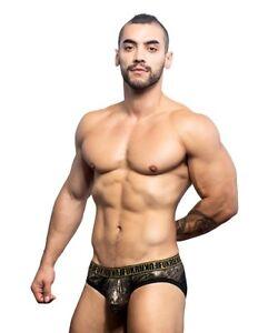 NEW Men's ANDREW CHRISTIAN FUKR PYTHON BRIEF GENUINE 90744 Underwear S-M-L-XL