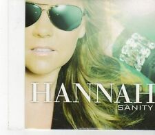 (FX191) Hannah, Sanity - 2010 DJ CD