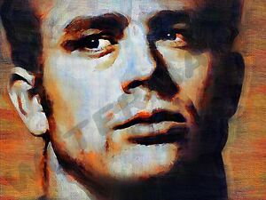 JAMES DEAN ICON AMERICAN ART PRINT POSTER OIL PAINTING LFF0069