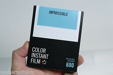 Impossible Project New Colour 600 film New type Polaroid 600 film 600 AU stock!