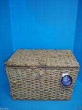 1 Seagrass Jute Storage Organizer Picnic Toy Laundry Office Basket Large 18x13