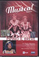 Dvd I GRANDI MUSICAL ITALIANI ~ PIPINO IL BREVE di Tony Cucchiara nuovo 1983