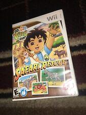 Go, Diego, Go Safari Rescue (Nintendo Wii, 2008)CIB - TESTED & WORKS