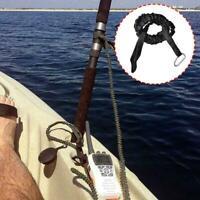 Kayak Canoe Paddle Fishing Leash Rope Rod Leash Safety Boats Accessories O1M0
