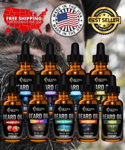 Beard Growth Oil - Fast Growing Beard Mustache Facial Hair oil for Men 12 Scents