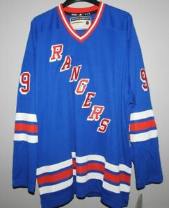 Authentic New York Rangers #99 Heroes Of Hockey Jersey New Mens 54 (XL) $225
