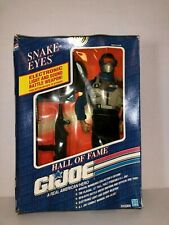 "1991 Gi Joe Hall Of Fame Doll - 12"" Action Figure - ""Snake Eyes"""
