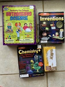 Lot Science Experiement Kits Chemistry Inventions Kinetic Sand